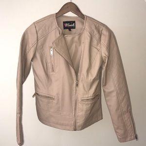 Jackets & Blazers - Spring faux leather jacket